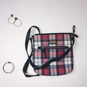 Tommy Hilfiger Plaid Crossbody Bag